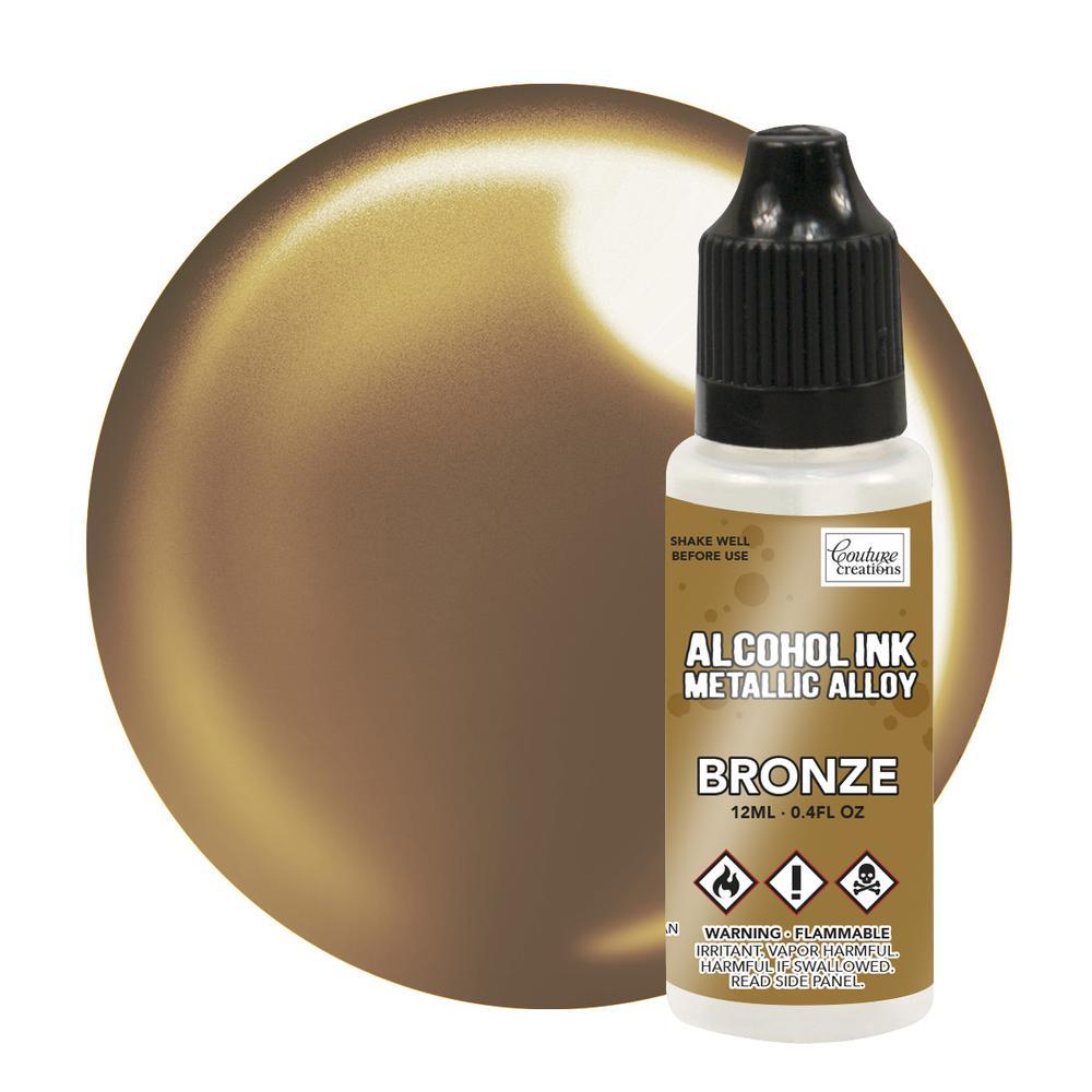 Alcohol Ink - Metallic Alloy - Bonze - 12ml